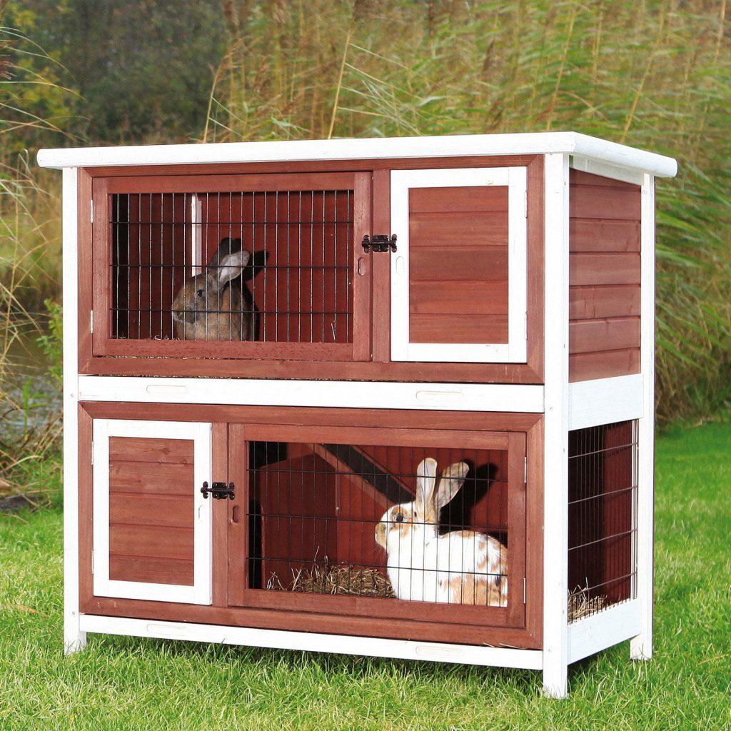 Клетка для кроликов в карсном