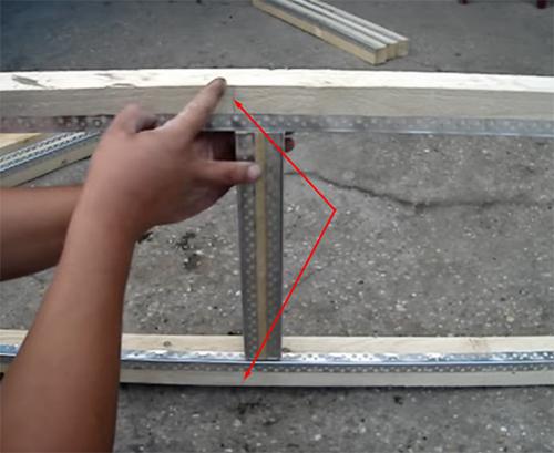 Процесс изготовления домика для кроликов 3