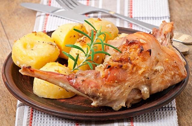 Приготовление мяса кролика