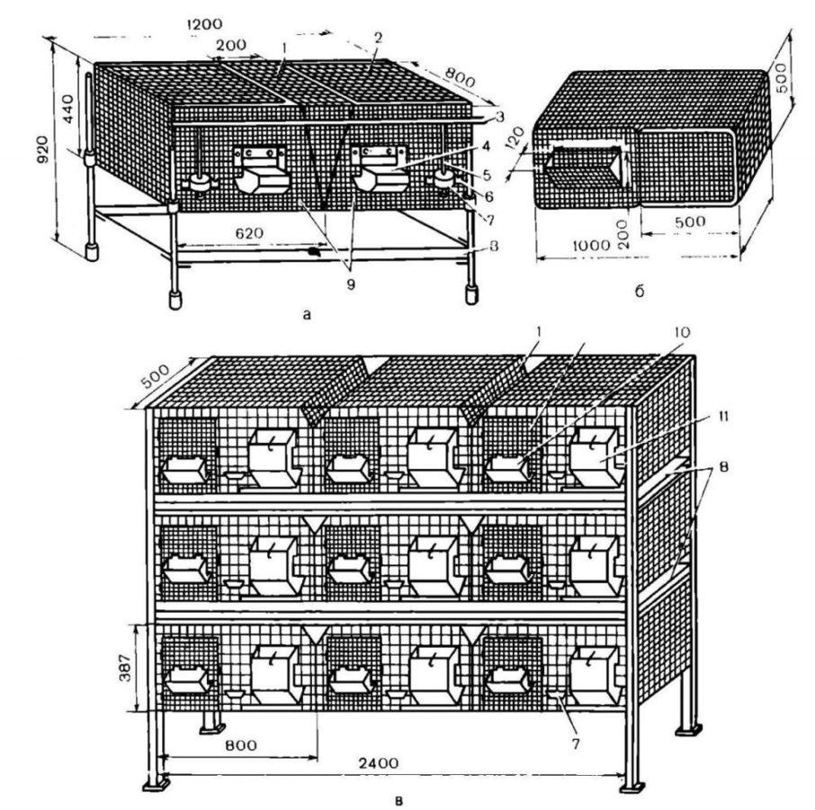 чертеж будущей постройки