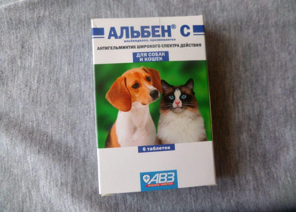 Лечение кроликов Альбеном