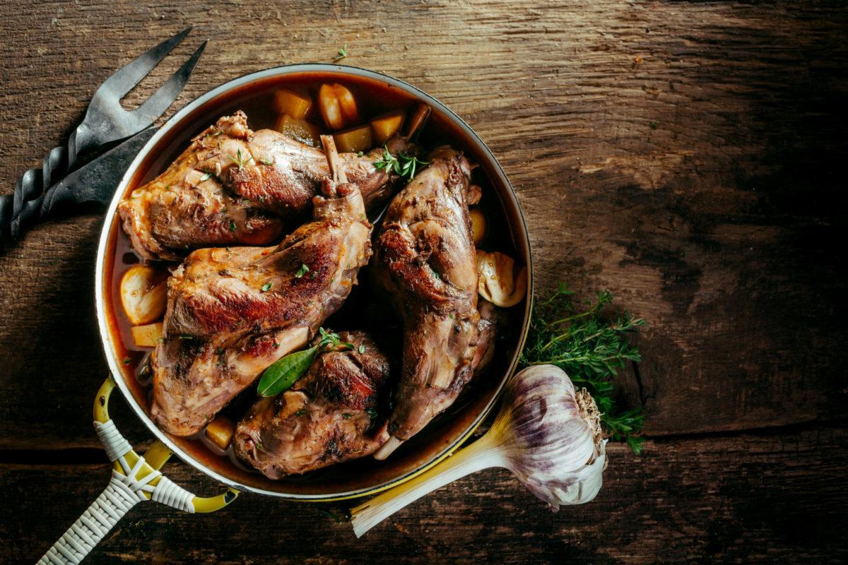 Рецепты из дикого зайца